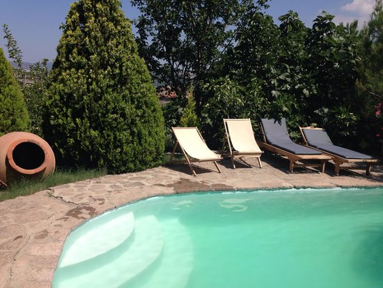 Assos Alarga, Bed and Breakfast: Very comfortable, cozy, small, high quality