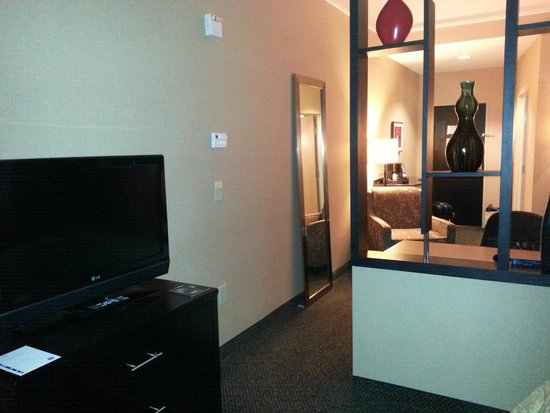 Cambria Hotel Raleigh-Durham Airport: View from Bed area to desk area