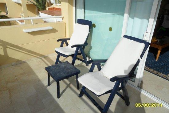 Hotel Riu Palace Jandia: Balkon