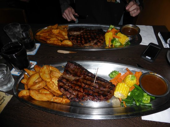 Outback Jack Bar and Grill: 1 kg Steak Challenge