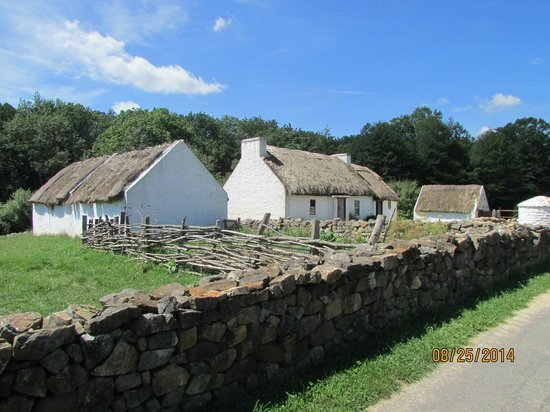 Frontier Culture Museum: Irish farm