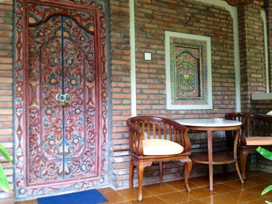 Lumbung Sari Cottages : Esterno delle camere