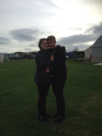 Higher Moor Farm: A picture of us now where we first met (just over a year later)