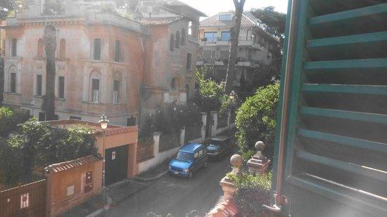 Hotel Aventino: La vista dalla nostra camera