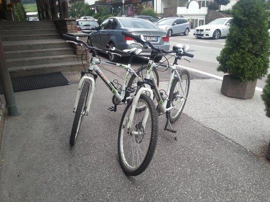 Ferien- und Wellnesshotel Windschar: biciclette