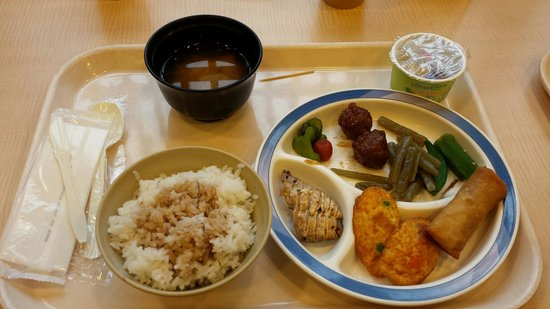 Super Hotel Hida-Takayama: Colazione giapponese