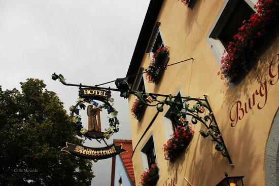Hotel BurgGartenpalais: Fachada do Hotel