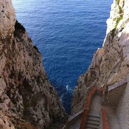 B&B Benebenniu : 652 Stufen zur Grotte Nettuno