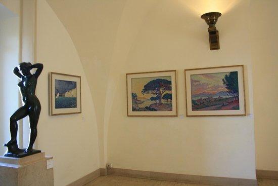 Musée de l'Annonciade (Musée de Saint-Tropez) : room with paintings by Paul Signac