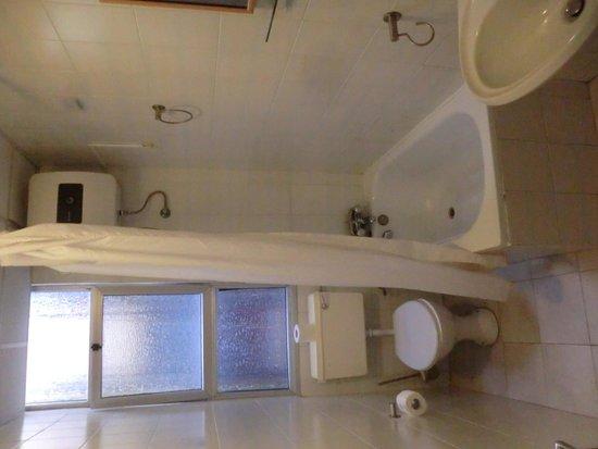 Alborada Apart Hotel: bagno