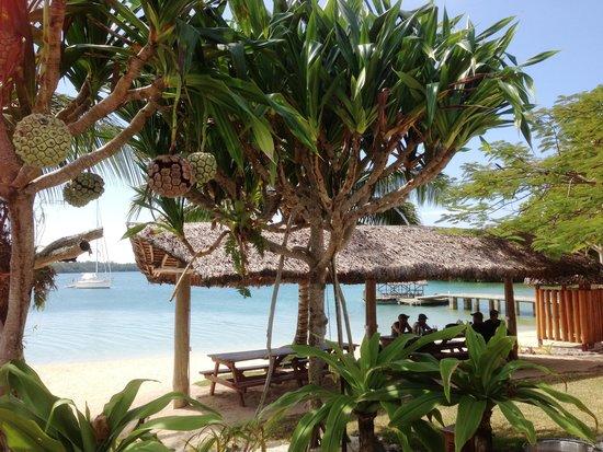 Oyster Island Resort Restaurant: Hut by the Beach