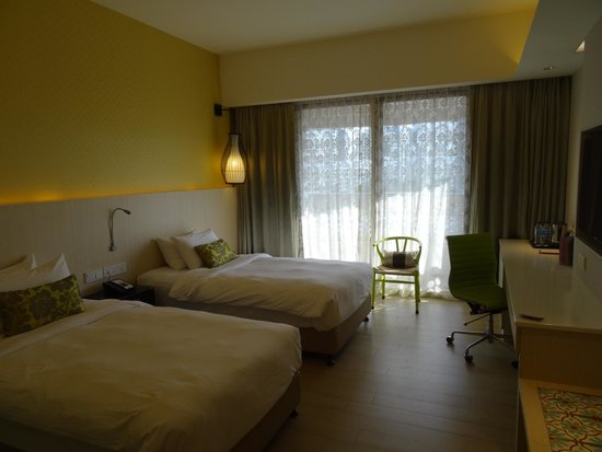 Village Hotel Katong by Far East Hospitality: Twin room