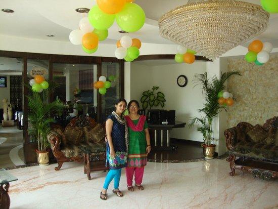 Hotel Taj Resorts: Reception hall