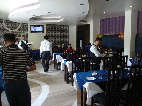 Hotel Taj Resorts: ground floor dinning hall