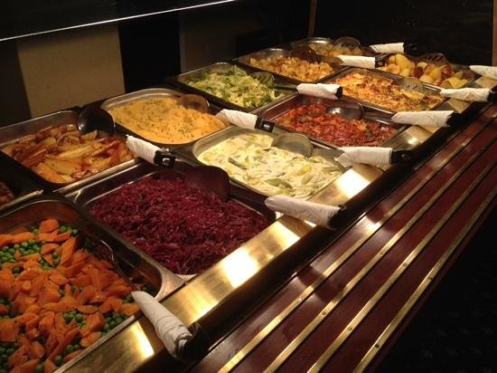 Royal and Fortescue Hotel: fantastic sunday carvery...