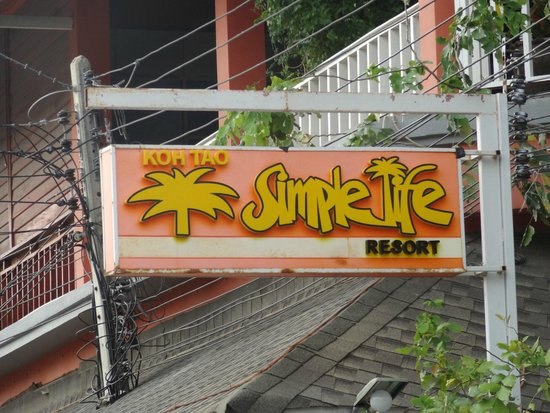 Koh Tao Simple Life Resort : Simple Life Resort