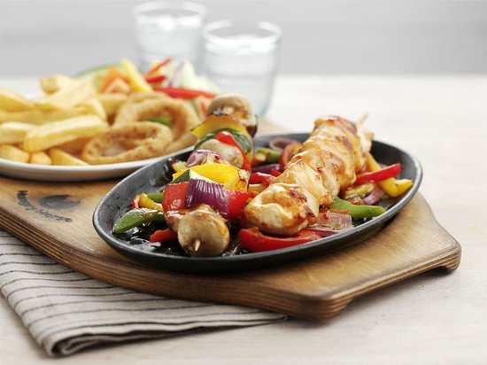 The Bath House: Sizzling chicken Skewers