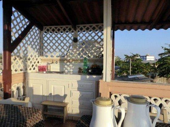 casa terraza Brisa  Del Mar: Une terrasse bien équipée