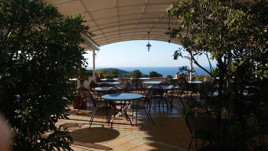 Poggio Aragosta Hotel & Spa: terrazza colazione