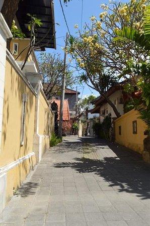 Surya Mas Villa: Driveway
