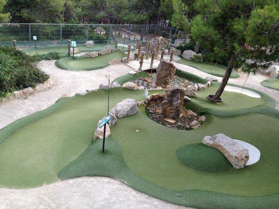 Vilanova Park: Mini golf