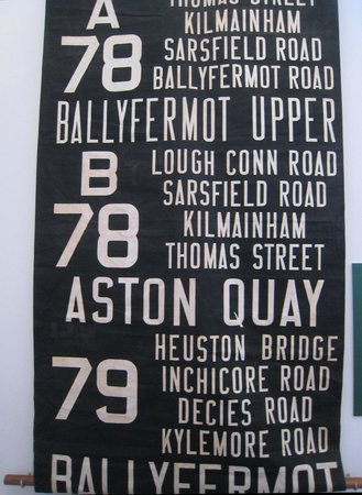 The Little Museum of Dublin: Bus routes