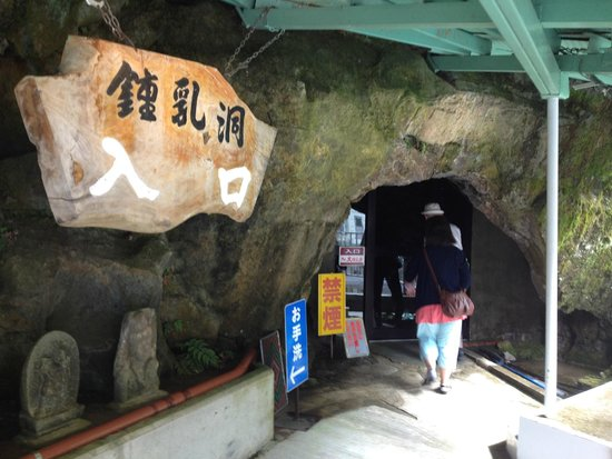 Hida Great Limestone Cave and Ohashi Collection Kan Museum: 入口