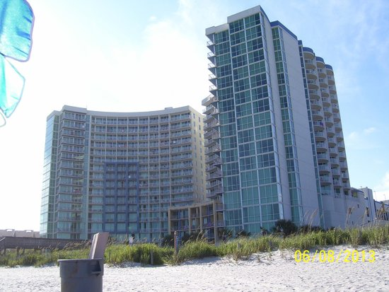 Avista Resort: from the beach