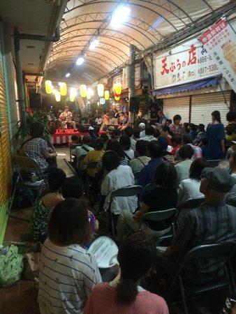 Sakaemachi Arcade: 祭り中