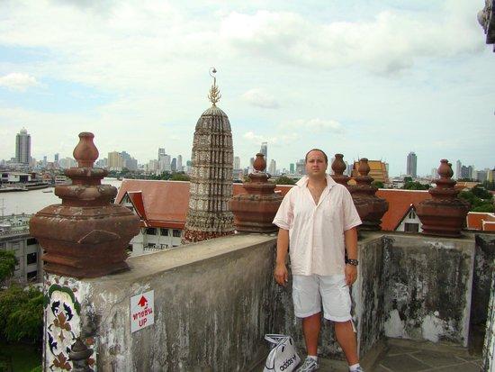 Temple de l'Aube (Wat Arun) : смотровая