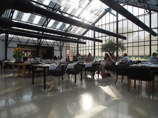 De Kas: The restaurant is converted by an old greenhouse