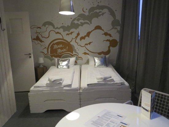Pyjama Park Hotel und Hostel : Foto de las camas 1