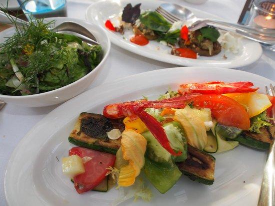 De Kas: Fresh veggie grew in the greenhouse next to the kitchen