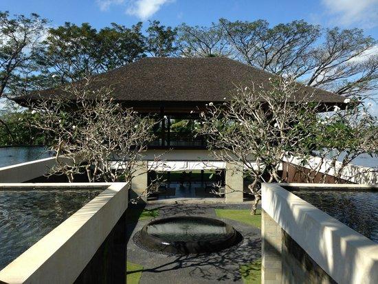 COMO Shambhala Estate, Bali: Beautiful blue sky