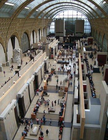Musée d'Orsay: Interno