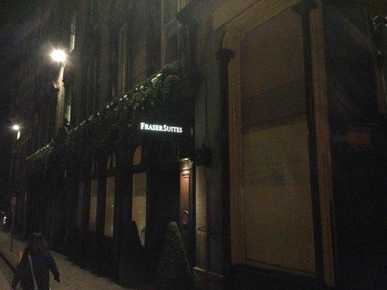 Fraser Suites Edinburgh: Fachada
