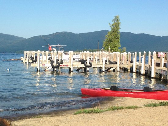 Diamond Cove Cottages: The Boat Docks at Diamond Cove - Safe and Secure