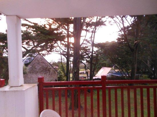 Pierre & Vacances Premium Résidence Le Domaine de Cramphore : vue sud ouest à l'étage