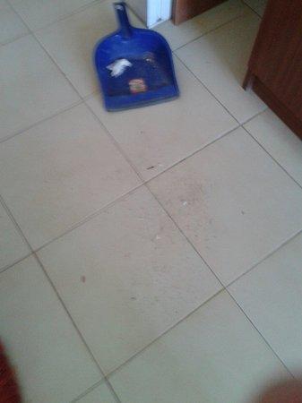 Hotel Maran: All'arrivo in albergo abbiamo dovuto chiedere una scopa per poter fare un minimo di pulizia alla