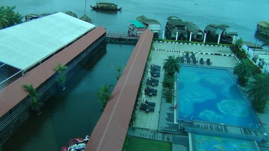 Ramada Alleppey: View from the room