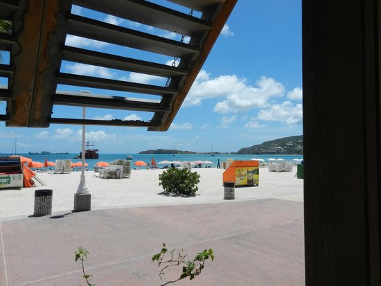 Blue Bittch Bar : View from the front porch