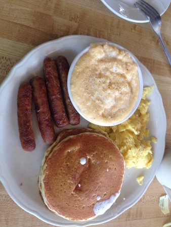 The Original Pancake House: No fancy plating but great food.