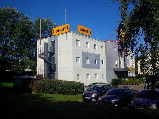 hotelF1 Verdun : hotelF1 from the hotel's premises