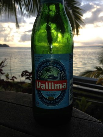 Savaii Lagoon Resort: Hmmm .. Beer
