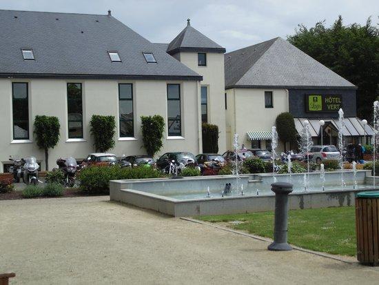 Hôtel Vert : Vista do Hotel