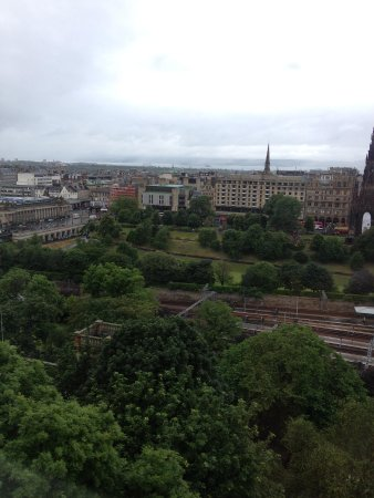 Fraser Suites Edinburgh: View from the window