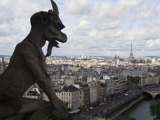 Tours de la Cathedrale Notre-Dame : The scuplture