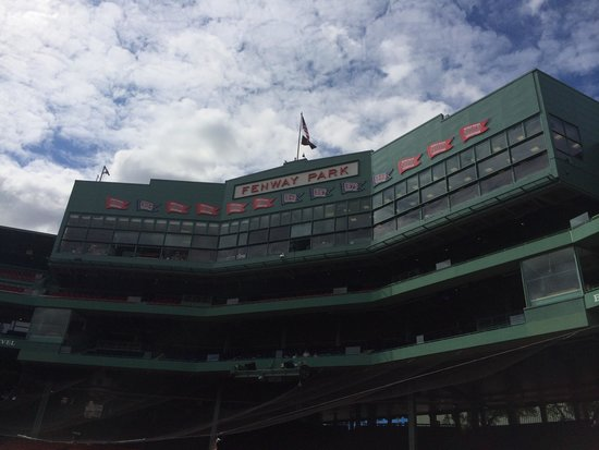 Fenway Park : From the field...