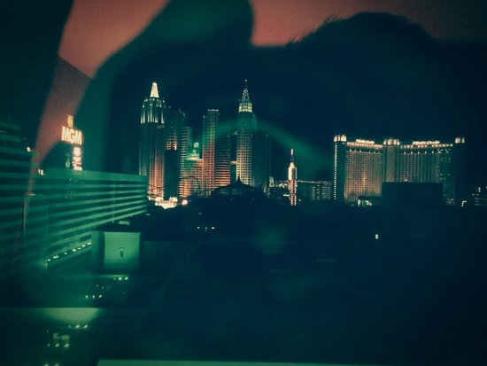 MGM Grand Hotel and Casino : Strip view