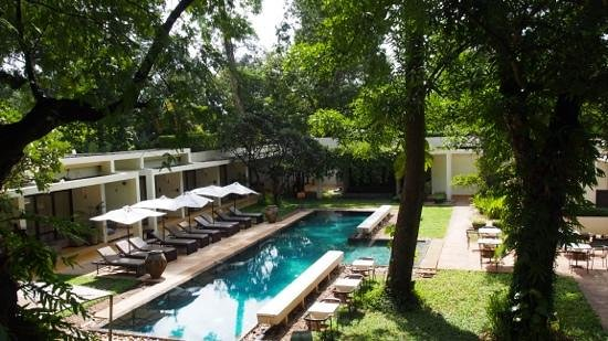 FCC Angkor : The pool and surrounds